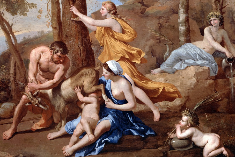 Amalteia cuidou do Zeus na criancice