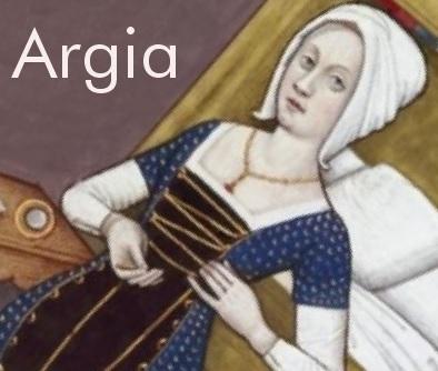 Argia desobedeceu e foi transformada em fonte