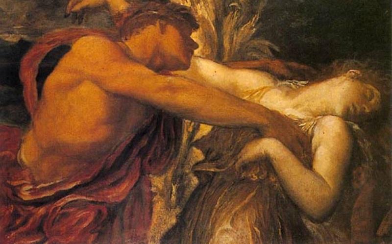 O Aristeu deu em cima da ninfa Eurídice