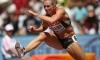 Cindy Roleder ficou com o quinto lugar nos 100 metros