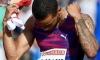 Andre de Grasse, perseguição da marca dos 100 metros