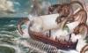 Caribde, o monstro que devorou o Ulisses