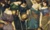Danaides punidas por matarem os maridos e primos